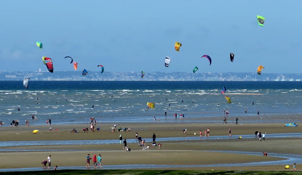 Kite surf - Cabourg - 05/08/2017