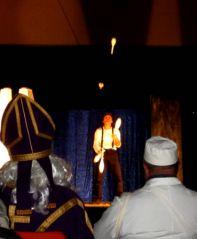 Saint Nicolas au spectacle (30/11/2013)