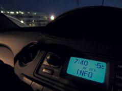 -5°C, Nancy (18/01/2012)