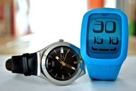 Evolution selon Swatch (10/02/2012)