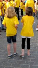 Flashmob Tour de France (23/06/2012)