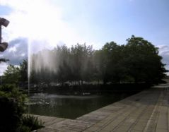 Jet du jardin d'eau de Nancy (10/07/2012)