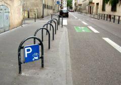 Rue vide d'une journée d'été à Nancy (09/07/2012)