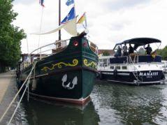 Tourisme fluvial à Nancy (17/07/2012)