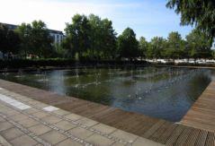 Cent fontaines, Jardin d'eau Nancy (21/09/2012)