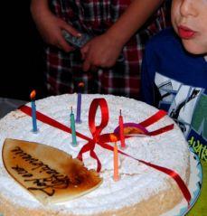 Gâteau d'anniversaire (30/09/2012)