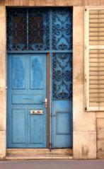 Porte bleue (18/10/2012)