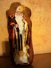 Saint Nicolas en pain d'épices (12/12/2012)