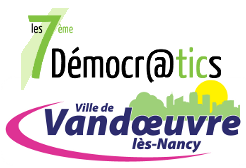 logo 7e democratics à vandoeuvre les Nancy